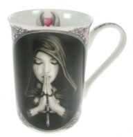 Anne Stokes Gothic Prayer Mug
